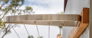 Stainless steel clotheslines byron bay